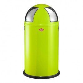 Wesco Odpadkový kôš Push two 50 l (2x 25 l) svetlozelený