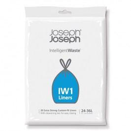Joseph Joseph Extra pevné sáčky na odpadky 24 – 36 l IntelligentWaste™ IW1