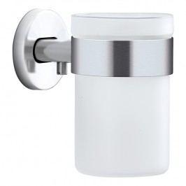 Blomus Nástenný pohár na zubné kefky matná nehrdzavejúca oceľ AREO