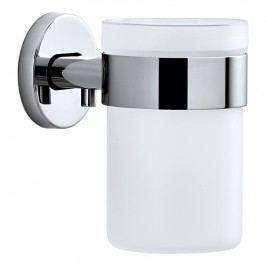 Blomus Nástenný pohár na zubné kefky leštená nehrdzavejúca oceľ AREO
