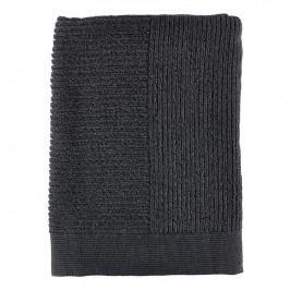 ZONE Osuška 70 × 140 cm anthracite/black CLASSIC