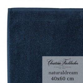 Christian Fischbacher Uterák pre hostí veľký 40 x 60 cm polnočná modrá NaturalDream, Fischbacher