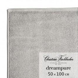 Christian Fischbacher Uterák 50 x 100 cm grafitový Dreampure, Fischbacher