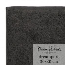 Christian Fischbacher Uterák na ruky/tvár 30 x 30 cm antracitový Dreampure, Fischbacher