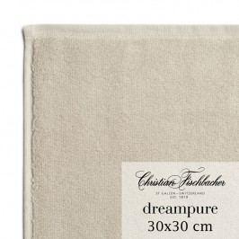 Christian Fischbacher Uterák na ruky/tvár 30 x 30 cm pieskový Dreampure, Fischbacher