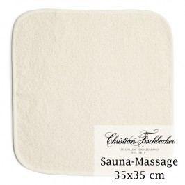 Christian Fischbacher Masážny uterák na ruky/tvár ľanový 35 x 35 cm, Weseta