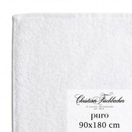 Christian Fischbacher Osuška 90 x 180 cm biela Puro, Fischbacher
