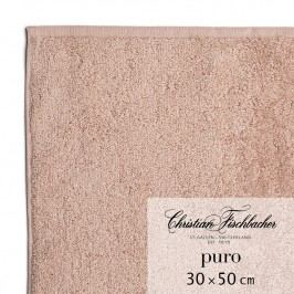 Christian Fischbacher Uterák pre hostí 30 x 50 cm ružovobéžový Puro, Fischbacher