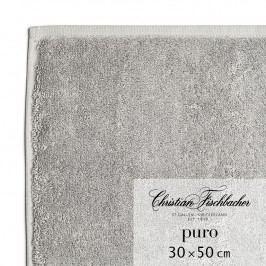 Christian Fischbacher Uterák pre hostí 30 x 50 cm grafitový Puro, Fischbacher