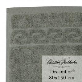 Christian Fischbacher Osuška 80 x 150 cm sivozelená Dreamflor®, Fischbacher