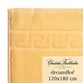 Christian Fischbacher Osuška veľká 120 x 180 cm vanilková Dreamflor®, Fischbacher