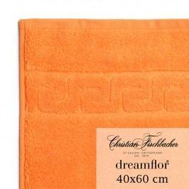 Christian Fischbacher Uterák pre hostí veľký 40 x 60 cm oranžový Dreamflor®, Fischbacher