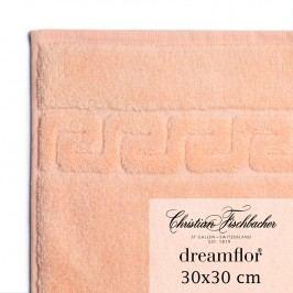 Christian Fischbacher Uterák na ruky/tvár 30 x 30 cm lososový Dreamflor®, Fischbacher