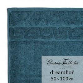 Christian Fischbacher Uterák 50 x 100 cmtmavý petrolejový Dreamflor®, Fischbacher