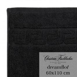 Christian Fischbacher Uterák veľký 60 x 110 cm čierny Dreamflor®, Fischbacher
