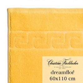 Christian Fischbacher Uterák veľký 60 x 110 cm žltý Dreamflor®, Fischbacher