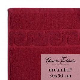 Christian Fischbacher Uterák pre hostí 30 x 50 cm bordeaux Dreamflor®, Fischbacher
