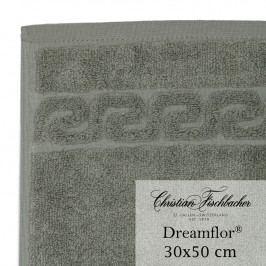 Christian Fischbacher Uterák pre hostí 30 x 50 cm sivozelená Dreamflor®, Fischbacher