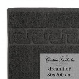 Christian Fischbacher Osuška do sauny 80 x 200 cm antracitová Dreamflor®, Fischbacher