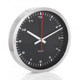 Blomus Nástenné hodiny čierne Ø 40 cm ERA
