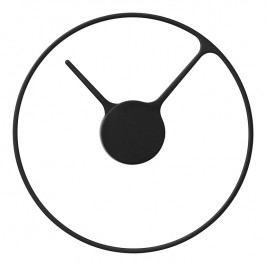 Stelton Nástenné hodiny veľké Ø 30 cm black classic