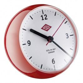 Wesco Stolné hodiny mini červené
