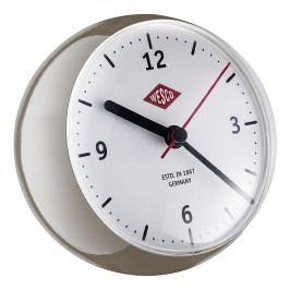 Wesco Stolné hodiny mini sivohnedé