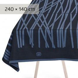 GEORG JENSEN DAMASK Obrus black blue 240 × 140 cm MIKADO
