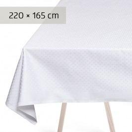 GEORG JENSEN DAMASK Obrus white 220 × 165 cm SNOWFLAKES