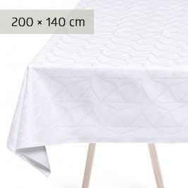 GEORG JENSEN DAMASK Obrus white 200 × 140 cm ARNE JACOBSEN