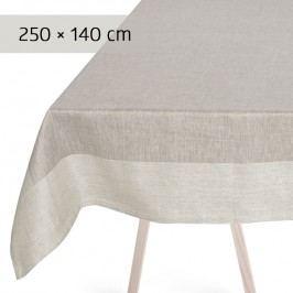 GEORG JENSEN DAMASK Obrus grey 250 × 140 cm PLAIN