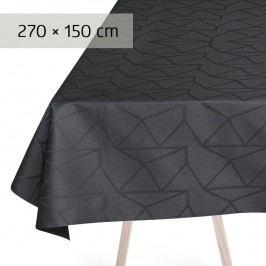 GEORG JENSEN DAMASK Obrus asphalt 270 × 150 cm ARNE JACOBSEN