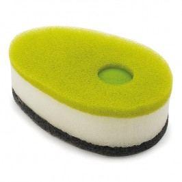 Joseph Joseph Súprava hubiek s dávkovačom saponátu zelená Soapy-Sponge™
