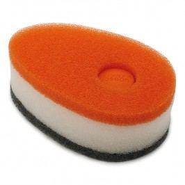 Joseph Joseph Súprava hubiek s dávkovačom saponátu oranžová Soapy-Sponge™