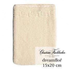 Christian Fischbacher Rukavica na umývanie 15 x 20 cm slonová kosť Dreamflor®, Fischbacher