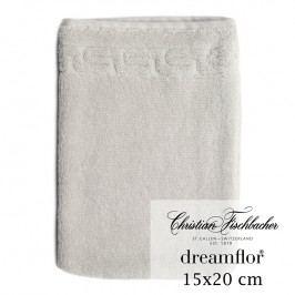 Christian Fischbacher Rukavica na umývanie 15 x 20 cm strieborná Dreamflor®, Fischbacher