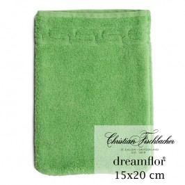Christian Fischbacher Rukavica na umývanie 15 x 20 cm zelená Dreamflor®, Fischbacher