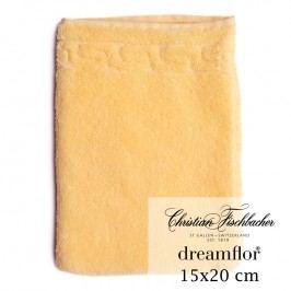 Christian Fischbacher Rukavica na umývanie 15 x 20 cm vanilková Dreamflor®, Fischbacher