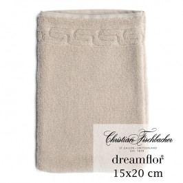 Christian Fischbacher Rukavica na umývanie 15 x 20 cm kašmírová Dreamflor®, Fischbacher