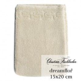 Christian Fischbacher Rukavica na umývanie 15 x 20 cm piesková Dreamflor®, Fischbacher
