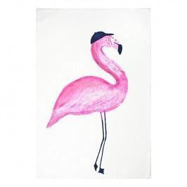 MÜkitchen Kuchynská utierka/uterák MÜincotton® Flamingo