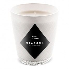 Meadows Vonná sviečka Mystic Cashmere mini biela