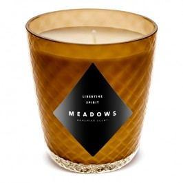 Meadows Vonná sviečka Libertine Spirit mini jantárová