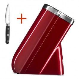 KitchenAid Blok na nože červená metalíza