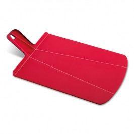 Joseph Joseph Skladacia doska na krájanie červená Chop2Pot™ Large
