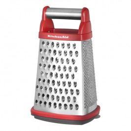 KitchenAid Strúhadlo 4-stranné so zásobníkom Professional kráľovská červená