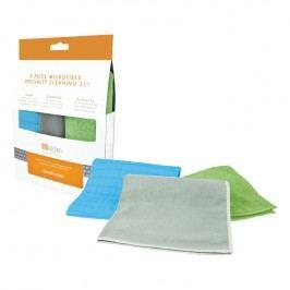MÜkitchen Súprava špeciálnych čistiacich handričiek z mikrovlákna 3-dielna MÜmicro®