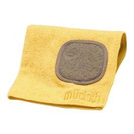 MÜkitchen Kuchynská handrička z mikrovlákna s drôtenkou žltá MÜcloth