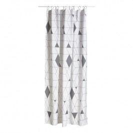 ZONE Sprchový záves 180 × 200 cm grey HARLEQUIN