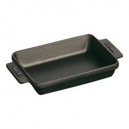 Staub Liatinový mini pekáč čierny 15 cm